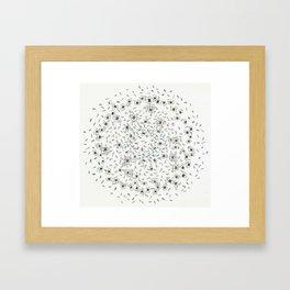 Hannah Lives Downstairs Framed Art Print
