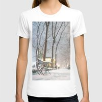 nyc T-shirts featuring NYC by Vivienne Gucwa