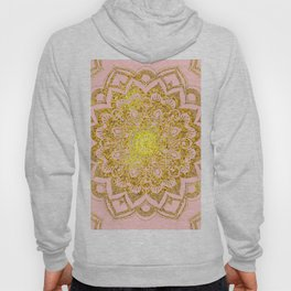 Golden Mandala i Hoody