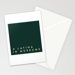 A Latina in Museums (box) Stationery Cards