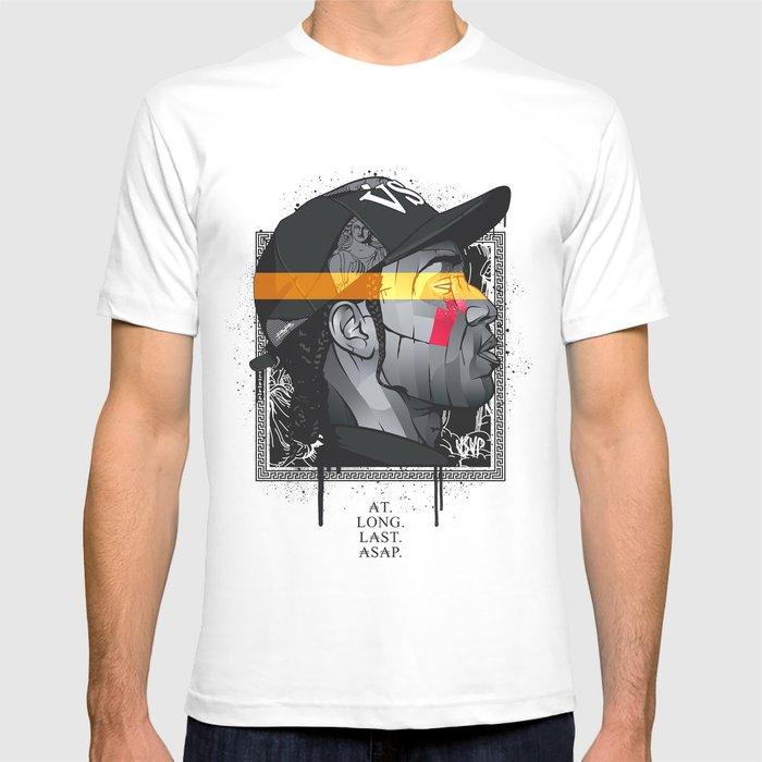 c111432f0 Asap Rocky T Shirt By Bokkaboom Society6