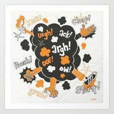 Gratuitous Violence! Art Print