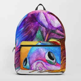 Sad fishy Backpack