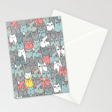 Cats family Stationery Cards