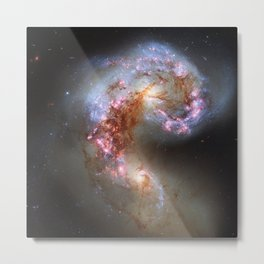 The Antennae Galaxies Metal Print
