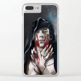 A Demons Fate Clear iPhone Case