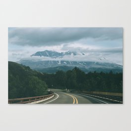 Road to Mount Saint Helens II Canvas Print