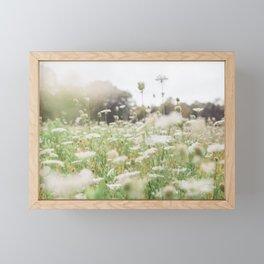 Grow Wild - Flower Photography Framed Mini Art Print