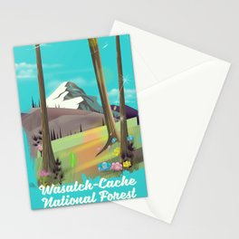 Wasatch-Cache National Forest Utah Stationery Cards