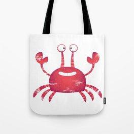 Red Crab Animal Tote Bag
