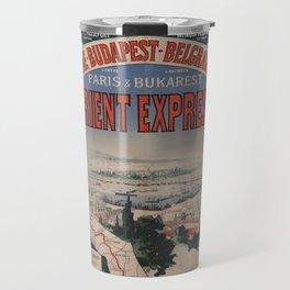 Vintage poster - Orient Express Travel Mug