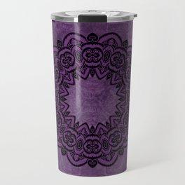 Circle in Purple Travel Mug
