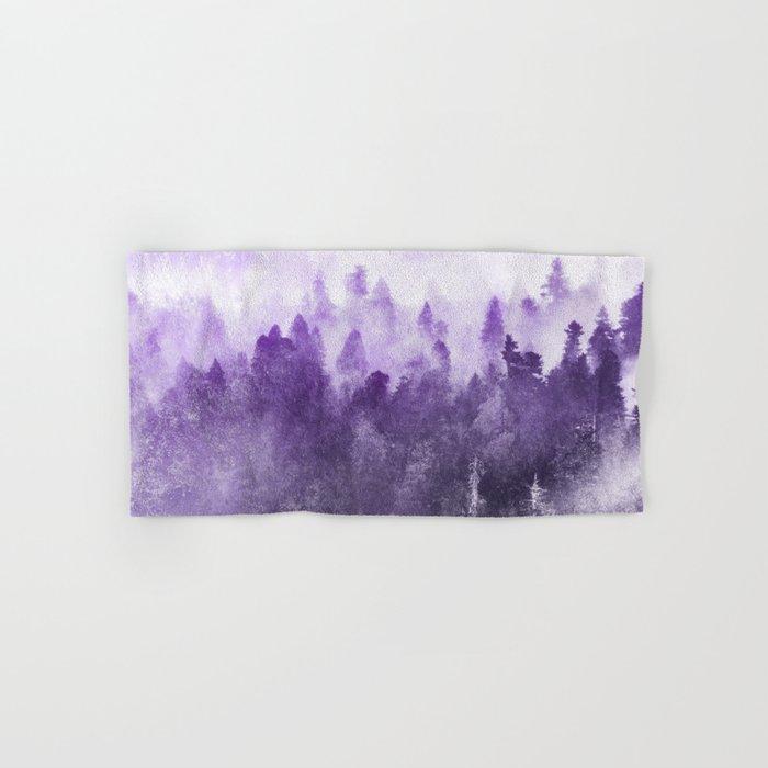 Ultra Violet Adventure Forest Hand & Bath Towel