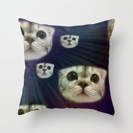 SpaceInvaders Throw Pillow