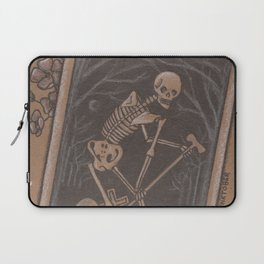 Death Laptop Sleeve