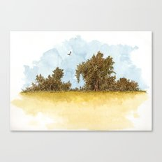 Dry Fields of Clovis Canvas Print