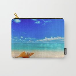Seashell by Seashore Carry-All Pouch