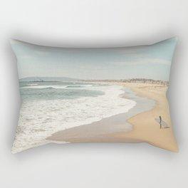 California Beach Rectangular Pillow