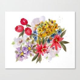Farmers Market Bouquet 1 Canvas Print