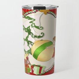 Fairy Merry Christmas Travel Mug