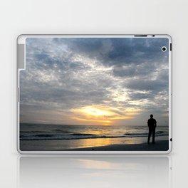 Walk into the sunset.. Laptop & iPad Skin