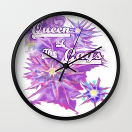 Queen of the Gays Wall Clock