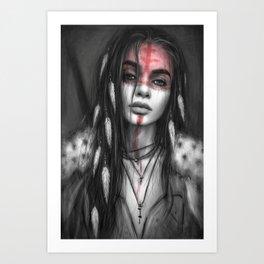The Dark of Night  Art Print