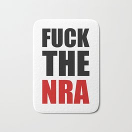 Fuck The NRA Bath Mat