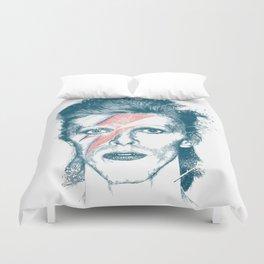 So Long Bowie.... Duvet Cover