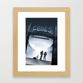 Ceres Framed Art Print