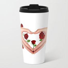 hand_heart Metal Travel Mug