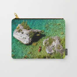 Kayaking In The Bruce Peninsula Carry-All Pouch