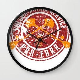 PON-FARR  VULCAN DATING SERVICE Wall Clock