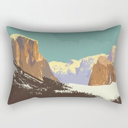 Yosemite National Park Rectangular Pillow