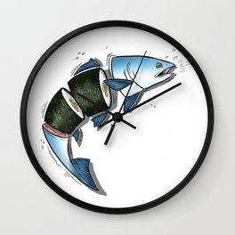 Chop Em' Up Wall Clock