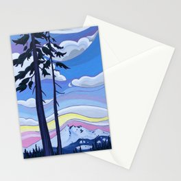 Enjoying the View Together Stationery Cards