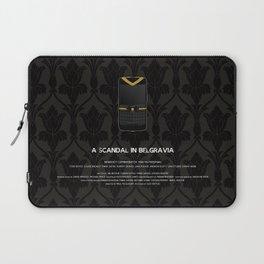 A Scandal in Belgravia Laptop Sleeve