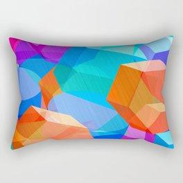 Sky of Cubes Rectangular Pillow