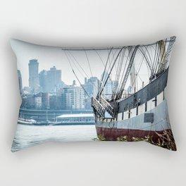 Boat of New York Rectangular Pillow
