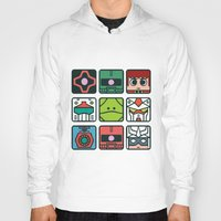 gundam Hoodies featuring Gundam Icon Design by Kenjken