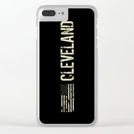 Black Flag: Cleveland Clear iPhone Case