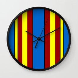 Super-Curtains Wall Clock