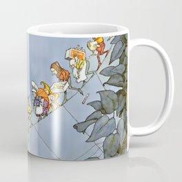 """""""The Fairy's Birthday"""" Illustration by W Heath Robinson Coffee Mug"""