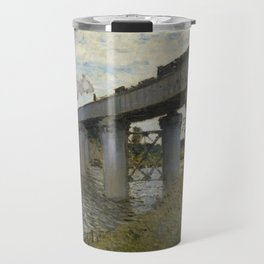 The Railroad bridge in Argenteuil Travel Mug