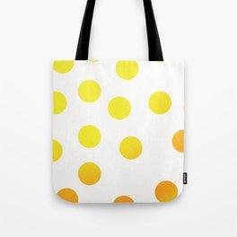 BIG YELLOW DOTS Tote Bag