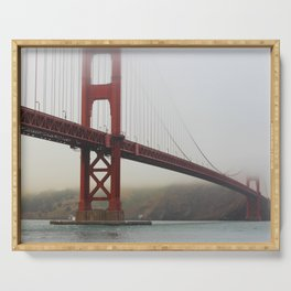 Golden Gate Fog Serving Tray