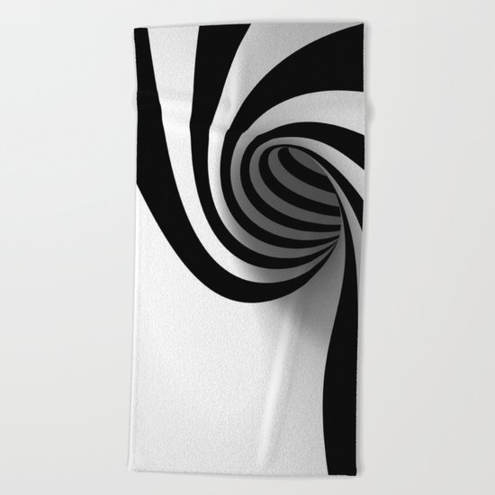 Spiral Beach Towel