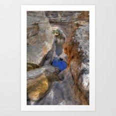 Cliffs of Israel Series #2 Art Print