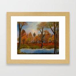 Autumnal Augur Framed Art Print