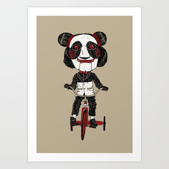 Panda Lover Art Print